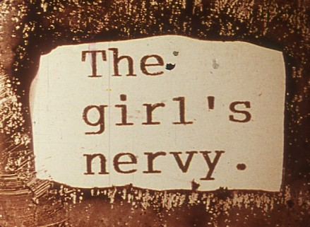 The Girl's Nervy