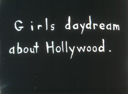 Girls Daydream About Hollywood